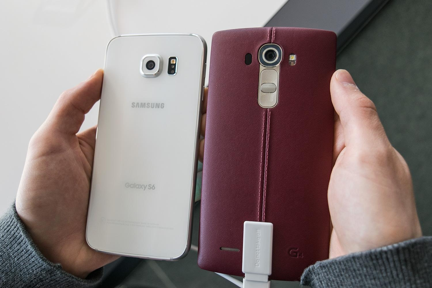 LG G4 over the Galaxy S6