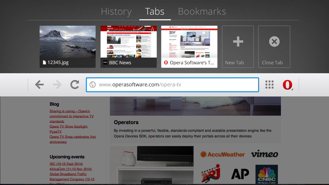 Opera Releases Browser For Android TV, But Currently Not Compatible With Nexus Player