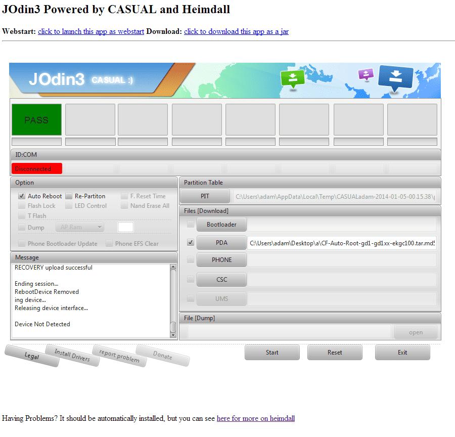 Download Odin 3 12 3 for PC Windows & MAC | Odin3 Full