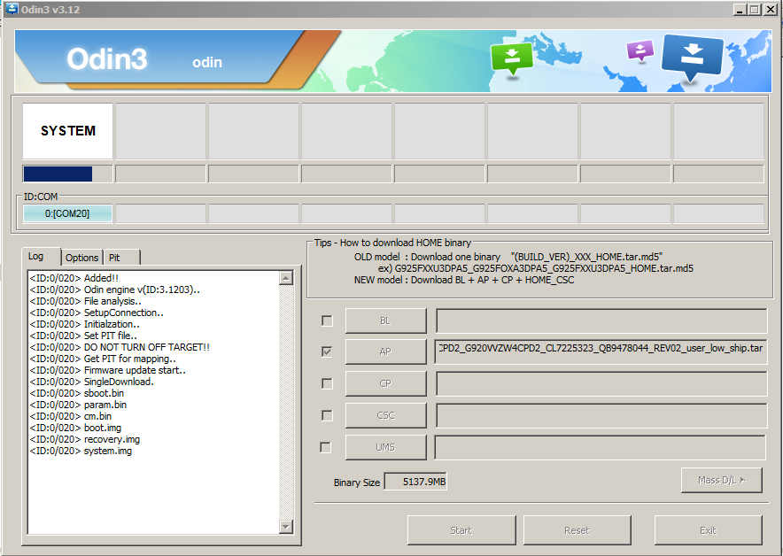 Download Odin 3.12.3 for PC Windows & MAC | Odin3 Full Collection