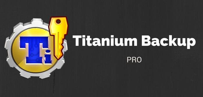Titanium Backup app