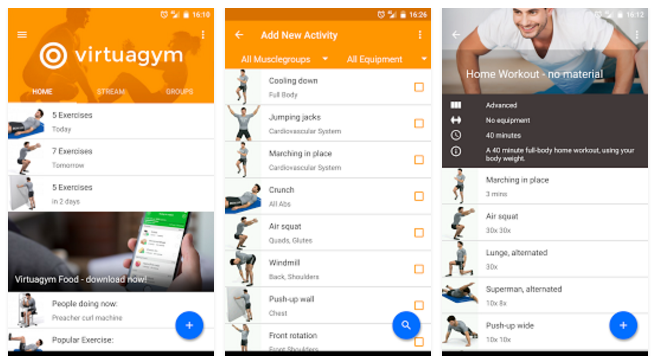 Virtuagym Fitness Pro – Home & Gym