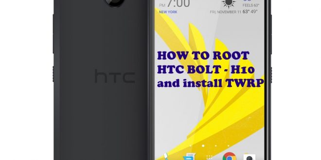 How to root HTC h10