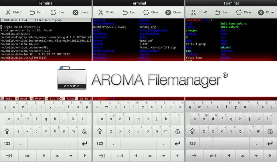 AROMA File Manager