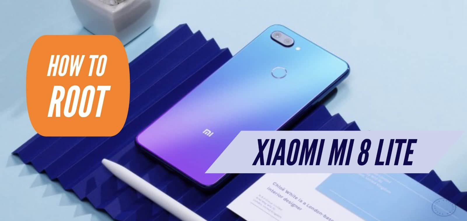 How to Root Xiaomi Mi 8 Lite Flash TWRP Recovery