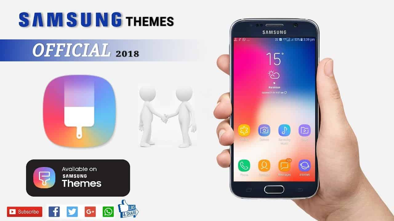 Get Best Free and paid Samsung Themes for 2018