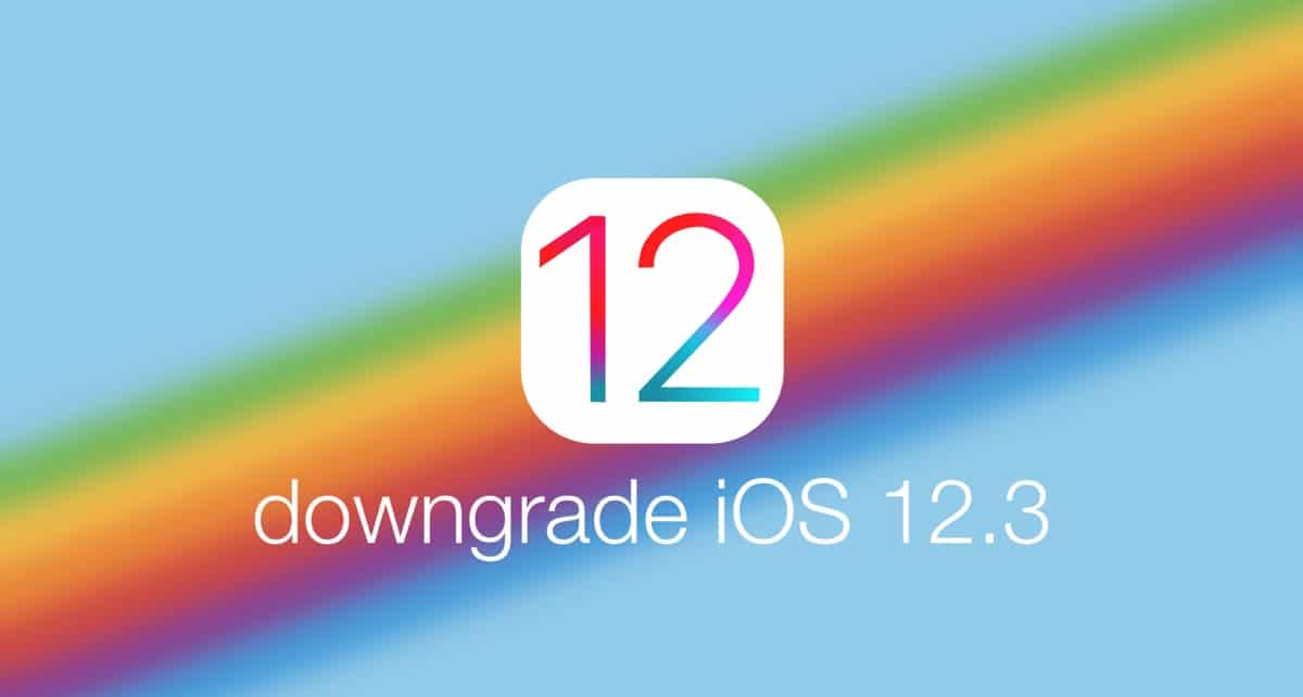 How to Downgrade your iPhone iOS 12.3 to iOS 12.2