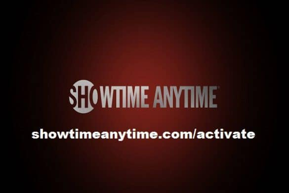 showtime anytime.com/activate