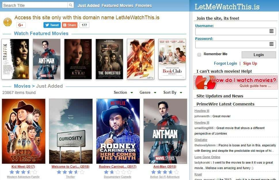 LetMeWatchThis Review – Best Platform To Get Entertained