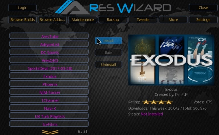 How to Install Kodi 17.1 Ares Wizard, and Get Pin using http://bit.ly/build_pin