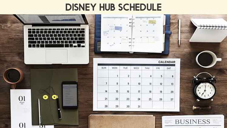 The Disney Hub Schedule