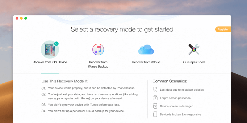 PhoneRescue review – Data Recovery Tool For iOS