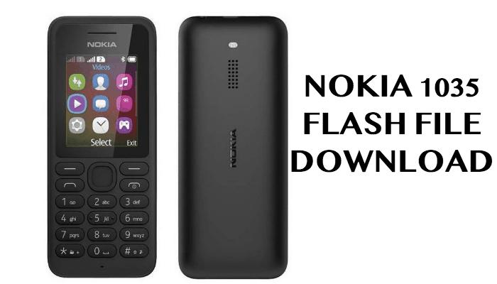 Nokia RM 1035 Flash File