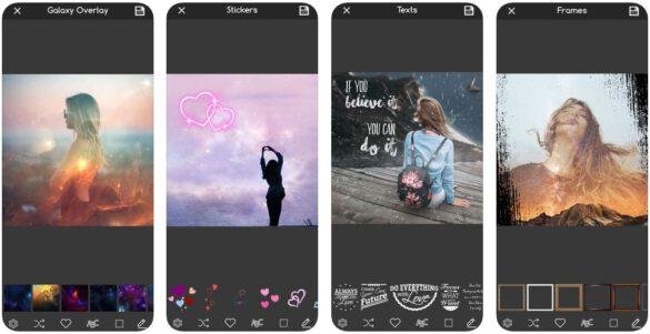 overlay photo app
