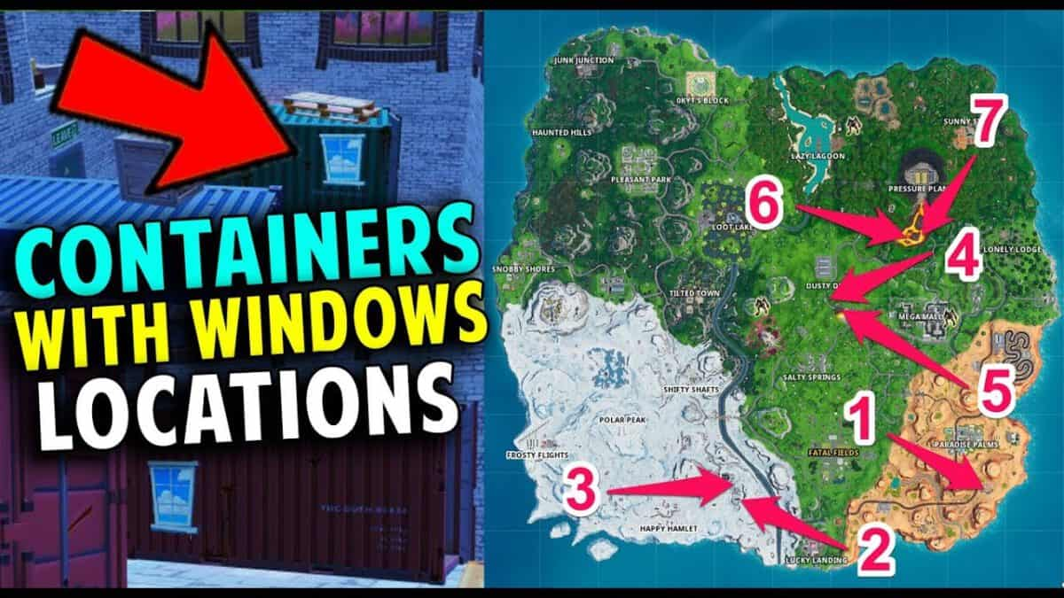 Fortnite: Search chests inside containers with windows