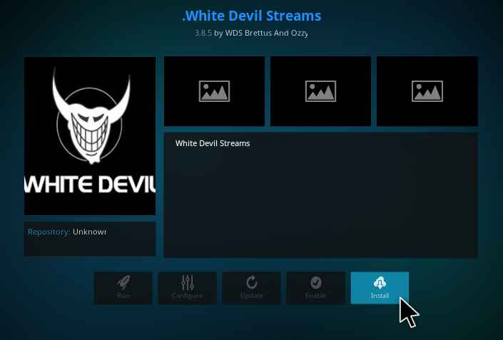 White Devil Streams addon