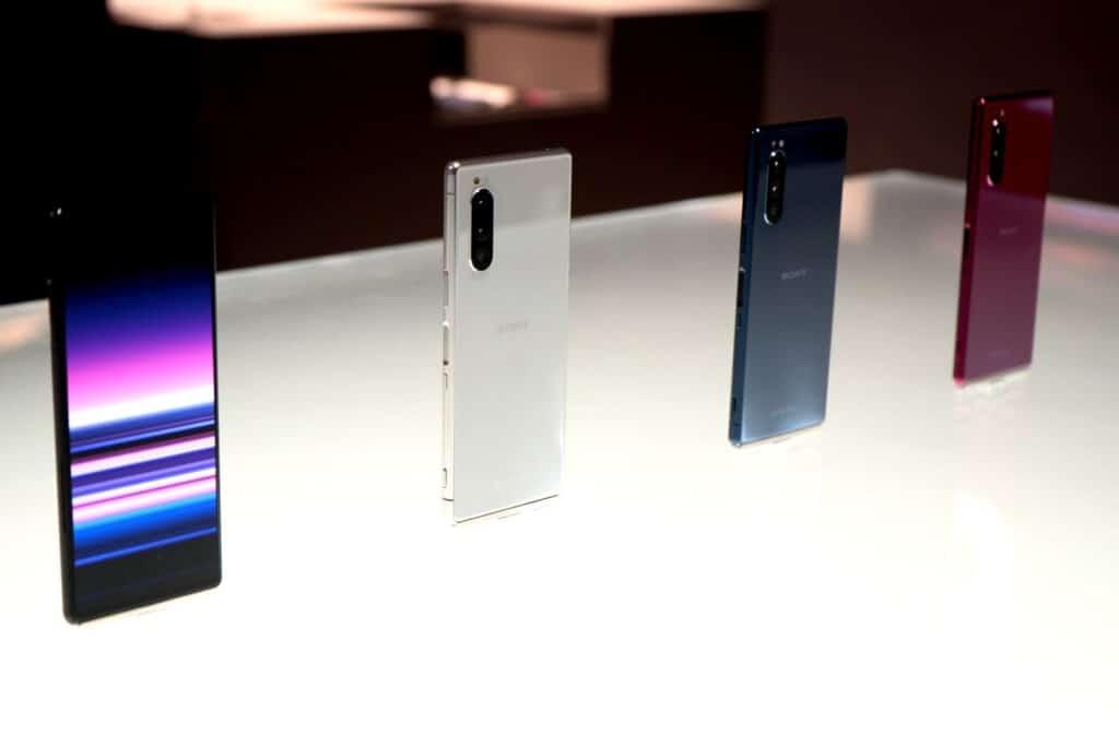 Sony Xperia 5 design
