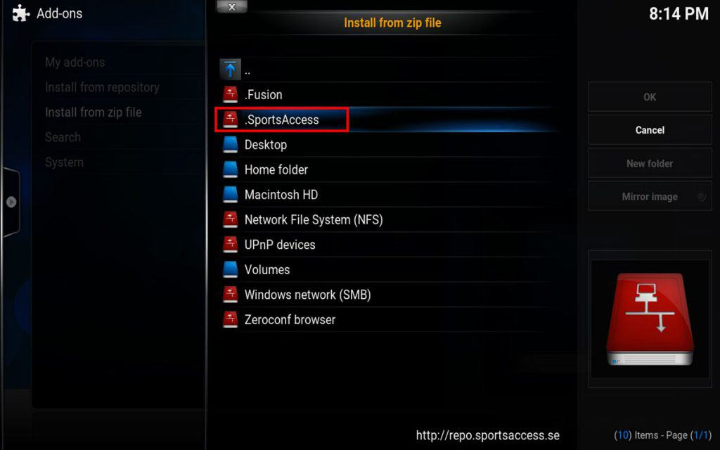 HOW TO INSTALL SPORTS ACCESS