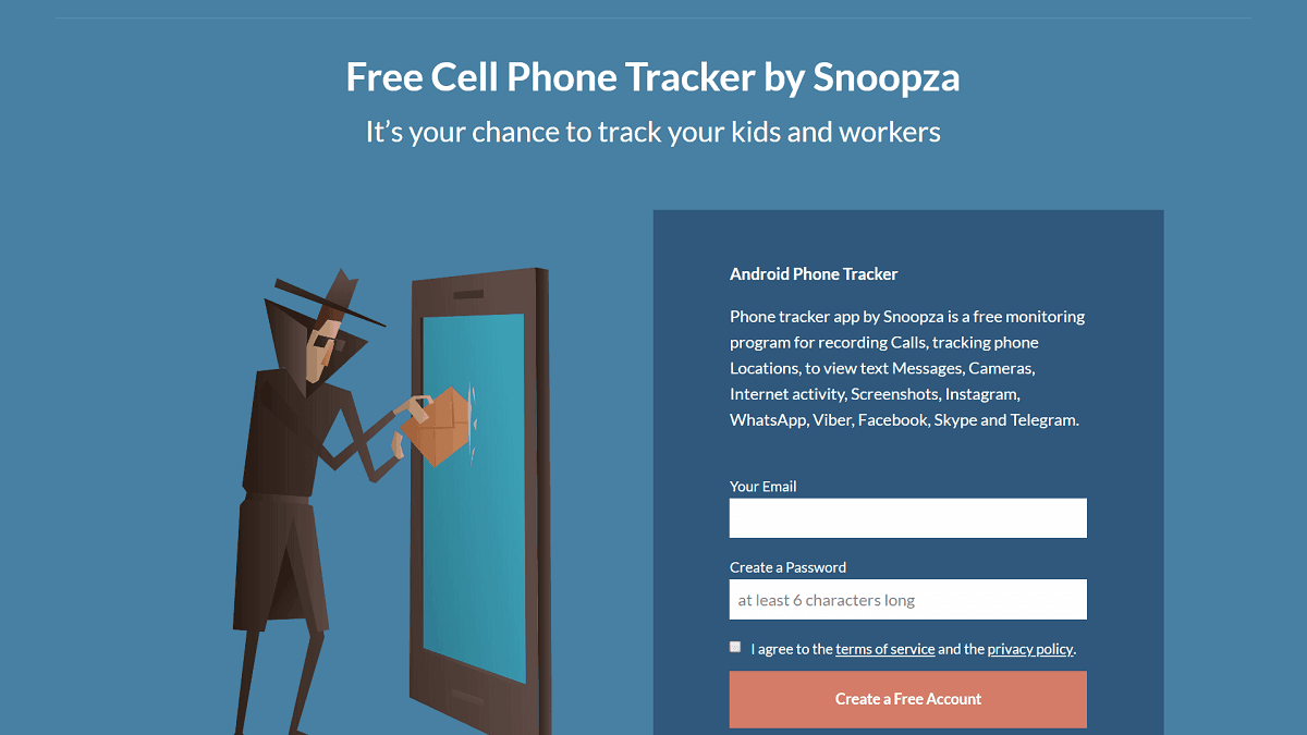 Snoopza Review – Android Phone Spy App