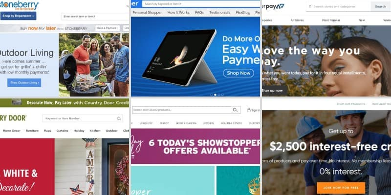 Top 10 sites like Fingerhut in 2021: Buy Now Pay Later!